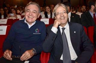 L'ex premier Gentiloni martedì a Vercelli. Incontro con Bobba, Chiamparino, Molinari e Corgnati