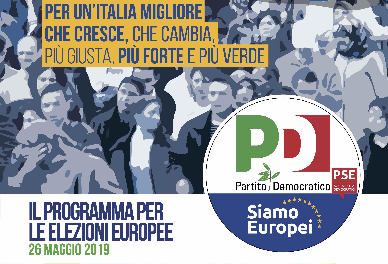 Una nuova Europa. Per un'Italia migliore che cresce, che cambia, più giusta, più forte e più verde