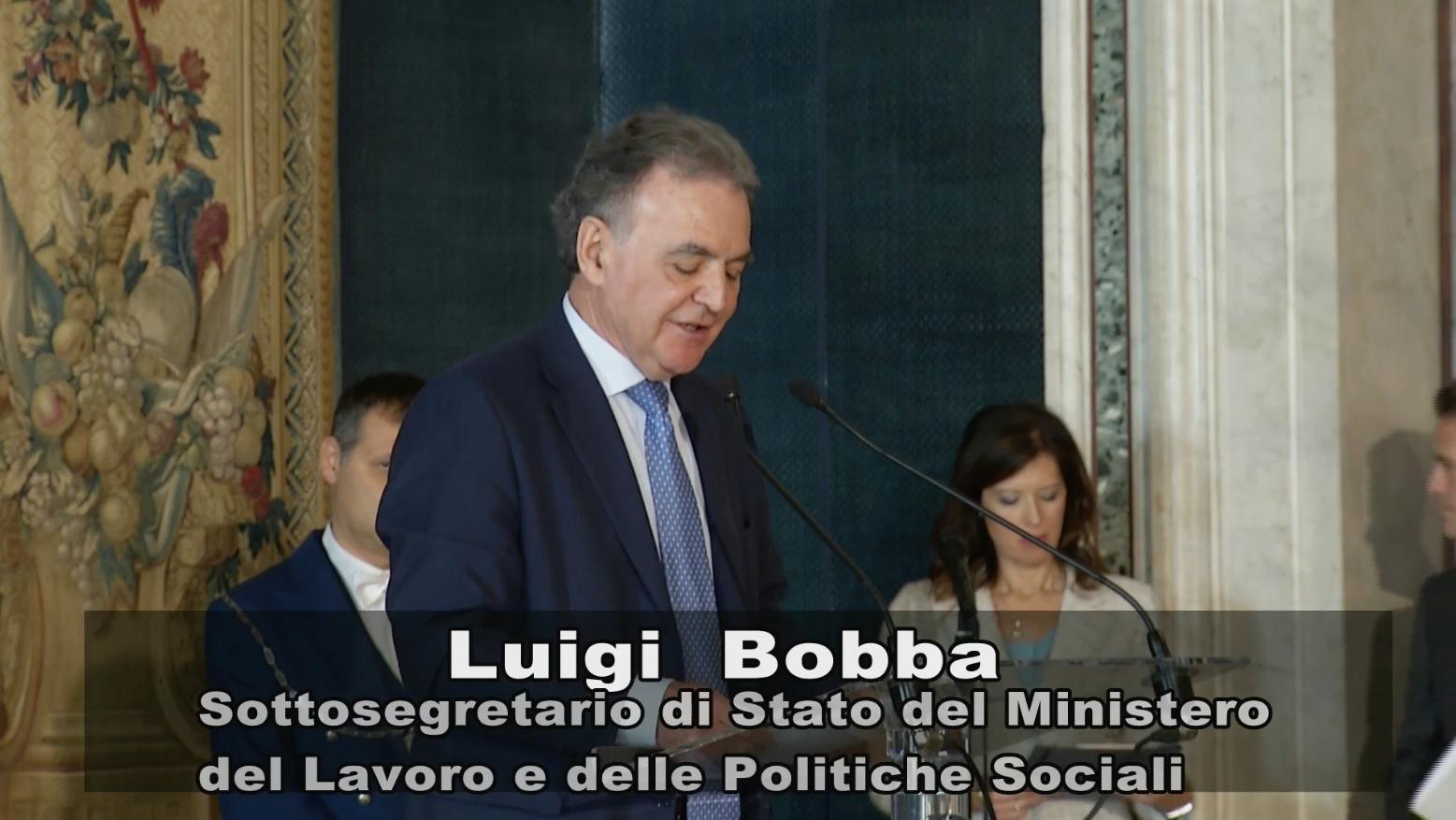 Intervento del Sottosegretario Luigi Bobba alla cerimonia del Primo Maggio 2016 al Quirinale