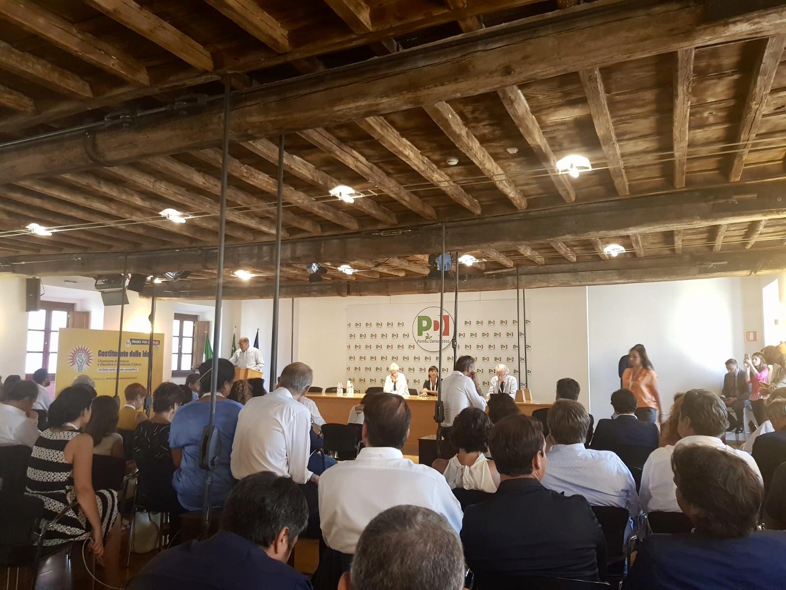 Vercelli, Report Incontro post Direzione nazionale PD del 21 agosto