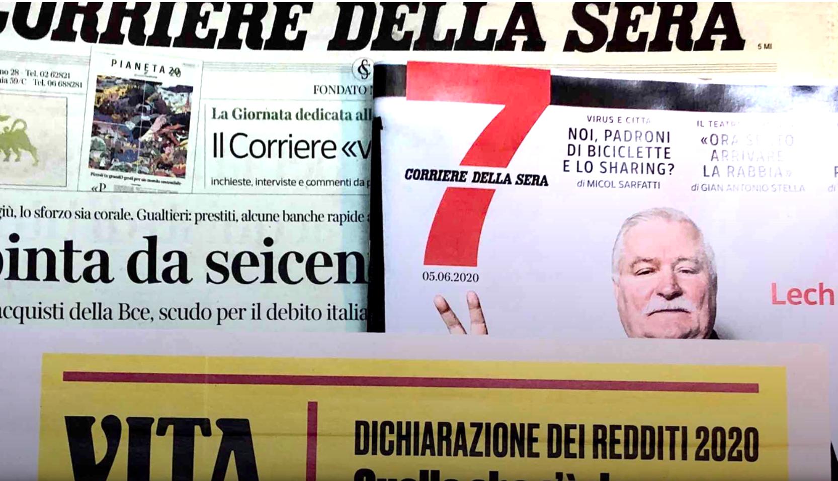 """Con VITA e Corriere della Sera un """"5 per mille ad alto impatto"""""""