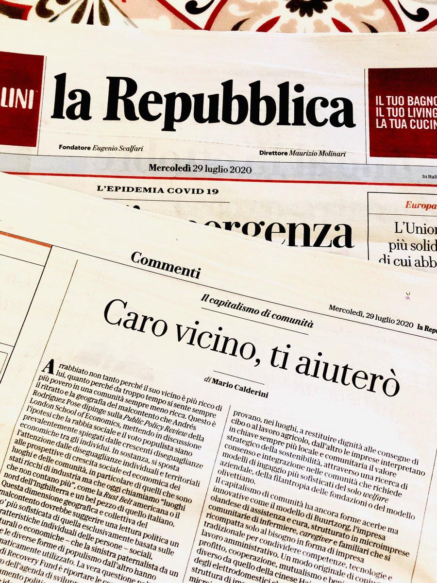 """Mario Calderini: """"Serve un capitalismo di comunità"""""""