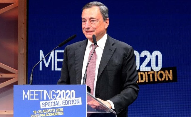 Incertezza e responsabilità, l'intervento di Mario Draghi al 41° Meeting
