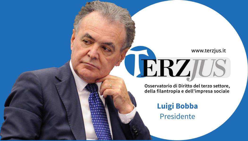 """Luigi Bobba introduce il convegno """"Gli E.T.S.: tra codice del Terzo settore e codice della crisi. Professioni a confronto"""""""
