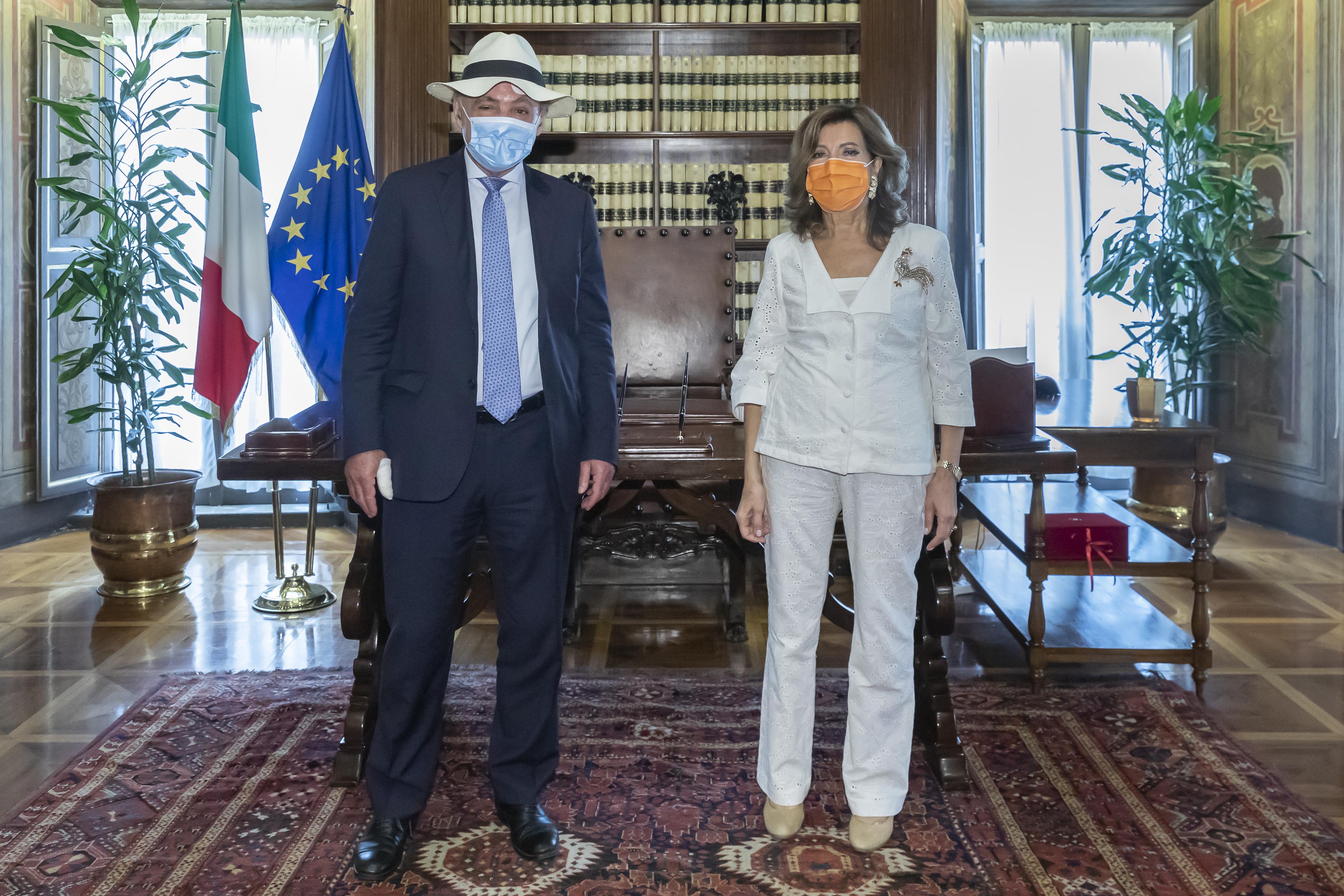 Una delegazione di Terzjus è stata ricevuta dalla Presidente del Senato Sen. Maria Pia Alberti Casellati