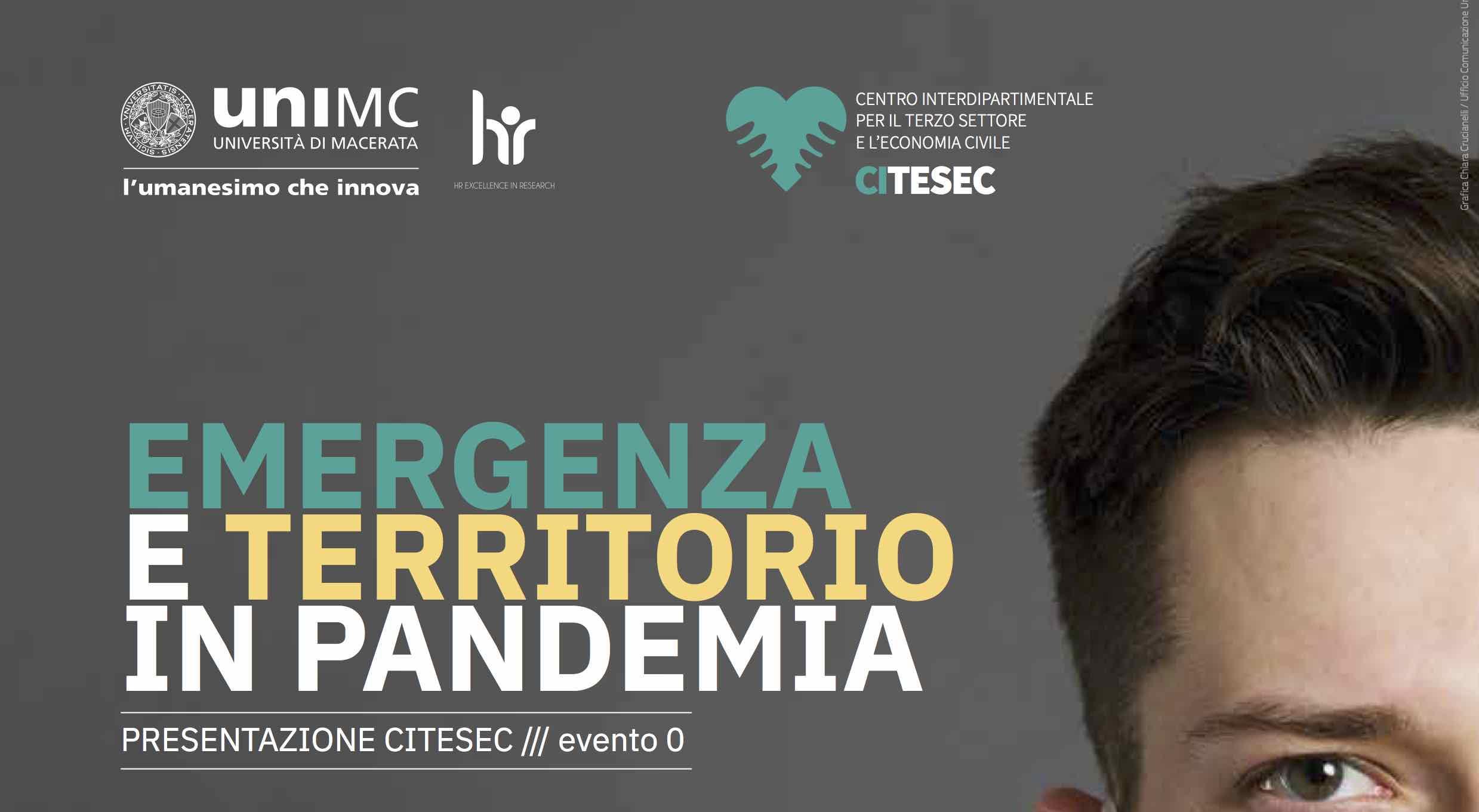 Emergenza e territorio. Presentazione CITESEC – Sabato 28 novembre 2020