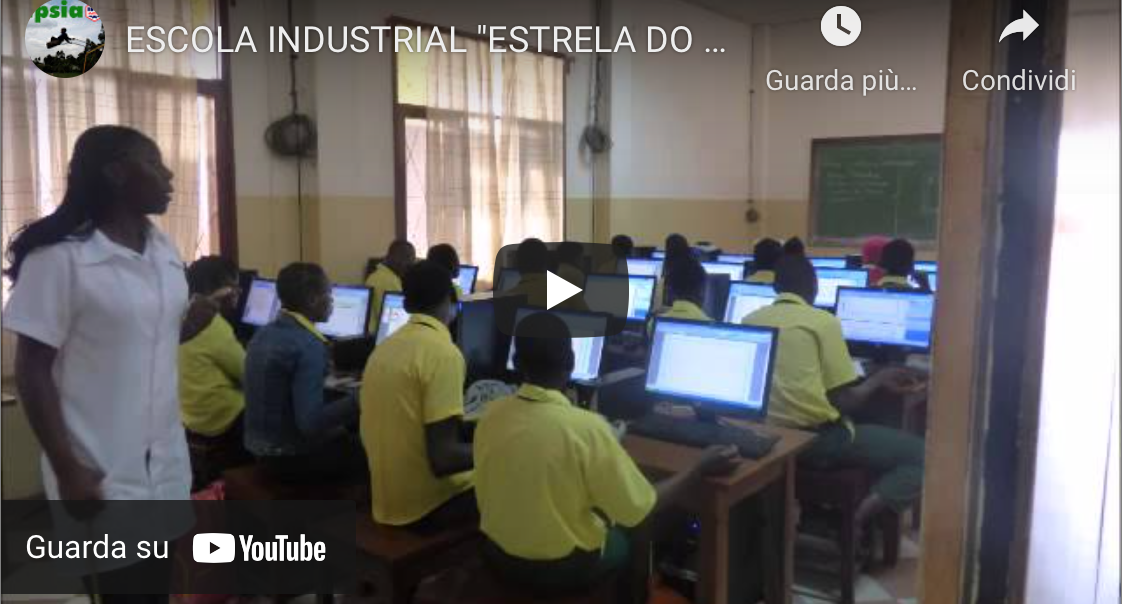 "ESCOLA INDUSTRIAL ""ESTRELA DO MAR"", il video"
