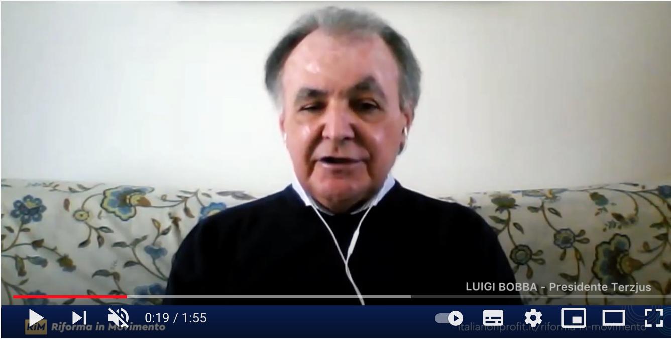 Riforma del Terzo Settore: L'appello di Luigi Bobba agli enti per partecipare a Riforma in Movimento