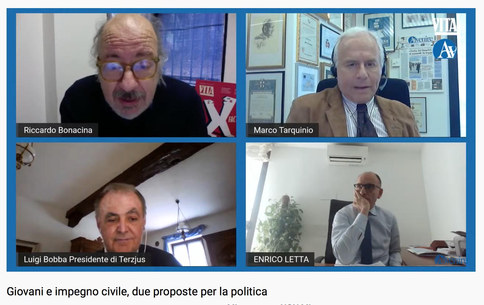 Video. Giovani e impegno civile, le proposte per la politica