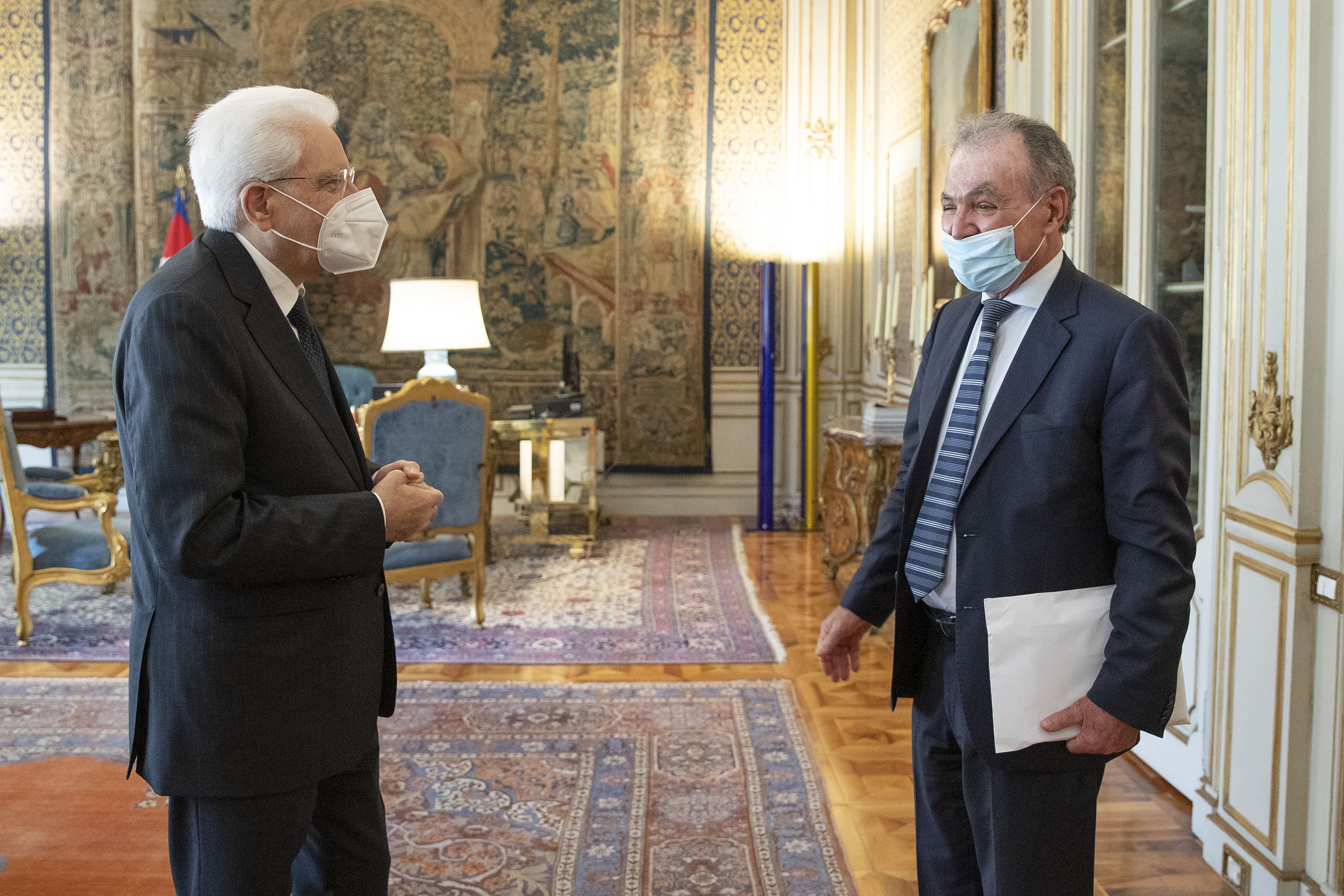 Luigi Bobba al Quirinale per presentare il primo rapporto sullo stato e sulle prospettive della legislazione sul Terzo Settore in Italia